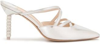 Sophia Webster Coco crystal heel mules