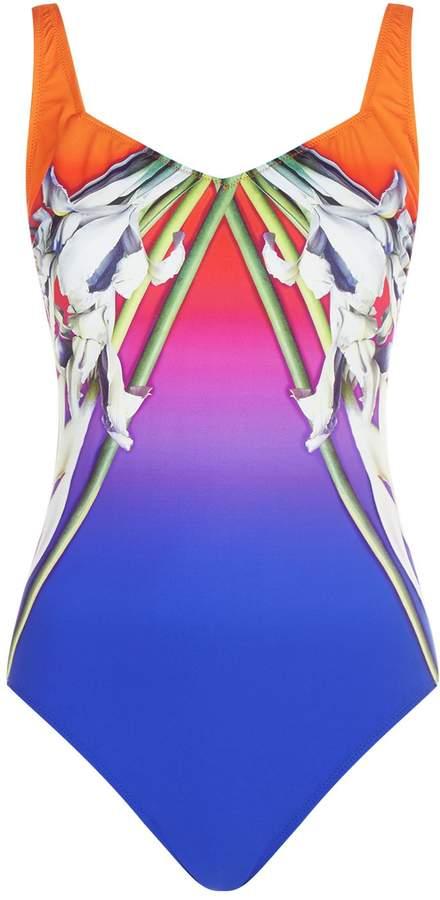 Gottex Floral Ombre Swimsuit