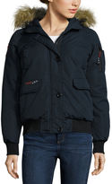 CANADA WEATHER GEAR Canada Weather Gear Bomber Jacket With Faux
