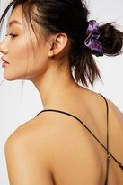 Free People Printed Velvet Scrunchie