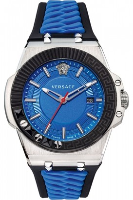 Versace Mens Chain Reaction 45Mm Watch VEDY00119