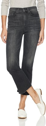 Hudson Womens Cropped Jeans Gray 27