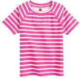 Tea Collection Stripe Short Sleeve Rashguard