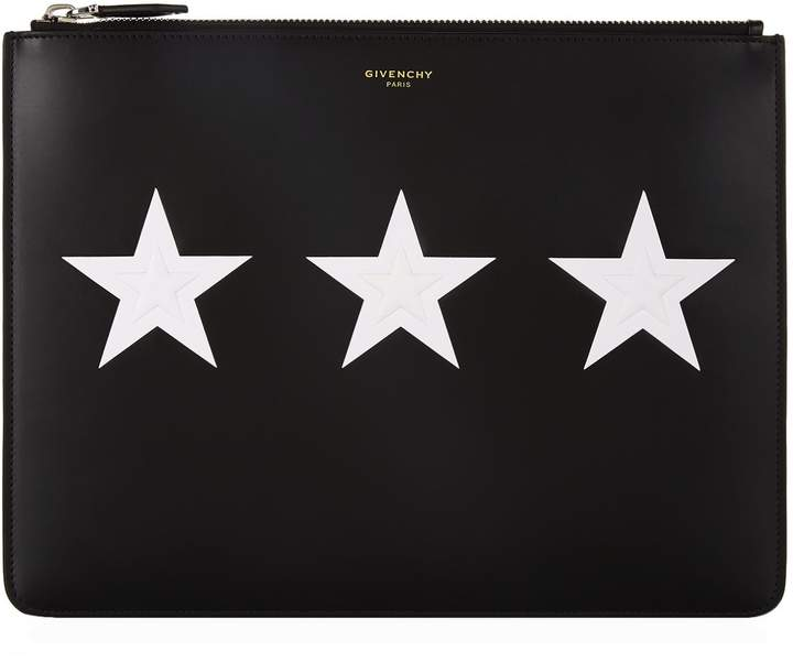 Givenchy Zipped Star Pouch