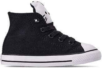Converse Chuck Taylor All-Star Hi Hello Kitty Black (TD)