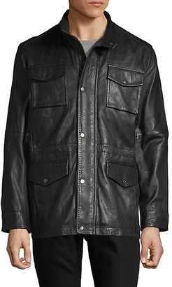 Rainforest Leather Patch Pocket Jacket