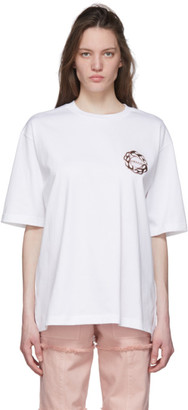 Ambush White Fire Logo T-Shirt