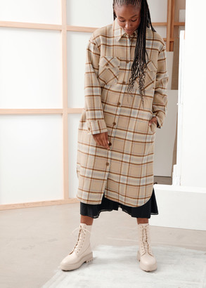 And other stories Belted Oversized Coat