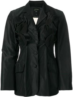 Jean Paul Gaultier Pre-Owned 1991 leaf appliqué jacket
