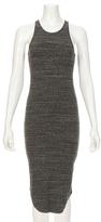 Monrow Stretch Rib Mid Length Tank Dress