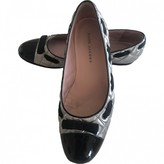 Marc Jacobs Silver Leather Ballet flats
