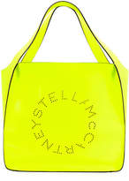Stella McCartney Fluorescent Perforated Tote Bag