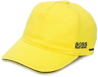 Boss Kids Embroidered Logo Cotton Cap