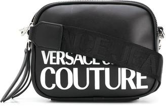 Versace Logo Print Crossbody Bag