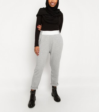 New Look Till We Cover Contrast Waist Joggers