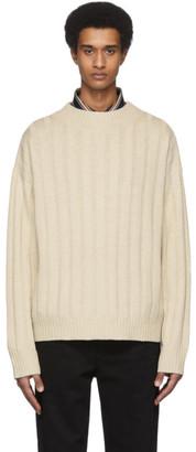 Hope Off-White Wool OM Sweater