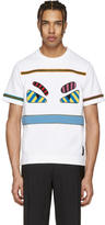 Fendi White Bag Bugs T-Shirt