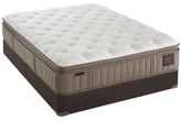 """Stearns & Foster Scarborough Luxury Pillowtop Euro Mattress with 5"""" Flat Foundation (Plush)"""