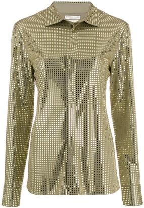 Bottega Veneta Mirror Embellished Shirt