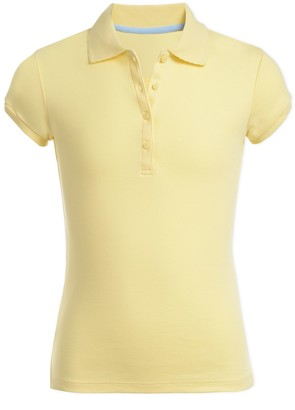 Nautica Uniform Short Sleeve Pico Polo Shirt (Little Girls & Big Girls)