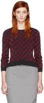 Altuzarra Black Clifton Cherry Sweater