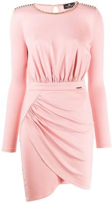 Elisabetta Franchi Embellished Mini Dress