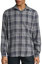 Black Brown 1826 Plaid Sportshirt