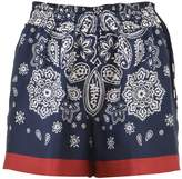 Moncler Silk Bermuda Shorts