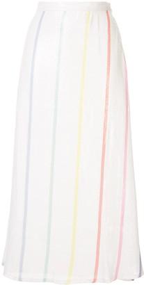 Olivia Rubin Stripe Print Skirt