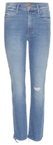 Mother Rascal high-waisted ankle jeans