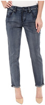 Miraclebody Jeans Brodie Boyfriend Jeans in Avalon Blue