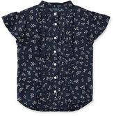 Ralph Lauren 2-6X Floral Ruffled Shirt