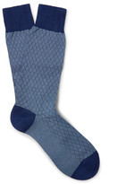 Pantherella Forsyth Patterned Cotton-blend Socks
