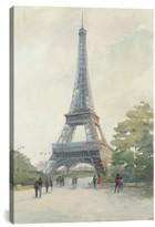 iCanvas 'Evening In Paris - Eiffel Tower' Giclee Print Canvas Art