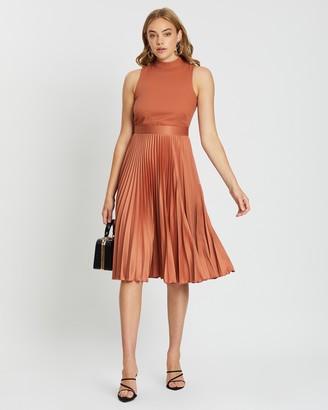 Closet London Pleated Skirt Dress