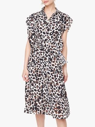 Damsel in a Dress Trudy Leopard Dress, Camel