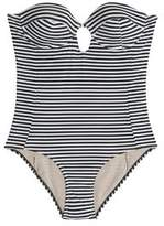 Tart Collections Reese Cutout Striped Underwired Swimsuit