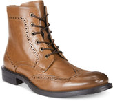 Unlisted by Kenneth Cole Men's Blind Sided Wingtip Perforated Boots