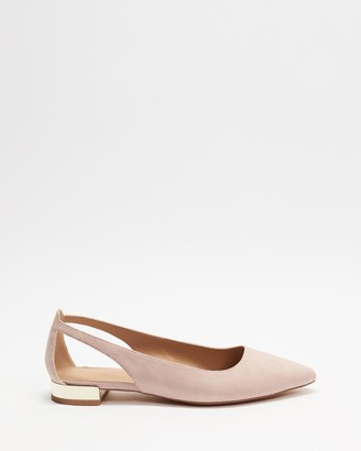 Spurr Women's Pink Ballet Flats - Cindy Flats - Size 6 at The Iconic