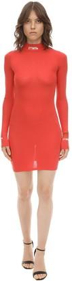 Heron Preston Light Jersey Mini Dress