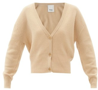 Allude Dropped-sleeve Cashmere Cardigan - Camel