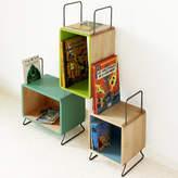 MOOD Kid's Tia Solid Wood Three Module Bookcase