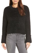Kenneth Cole New York Women's Large Cuff Crop Sweater