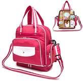 Multi-Functional Diaper Bag,XREXS Mummy Organizer Backpack/ Shoulder Bag,Tote Bags/ Handbag,Cute Baby Nappy Bag with Adjustable Strap, Larger Capacity,Waterproof Design