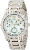 Mother of Pearl Swiss Precimax Women's SP12080 Desire Elite Diamond Mother-Of-Pearl Dial Watch