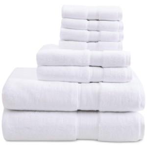 Madison Home USA Signature Solid 8-Pc. Towel Set Bedding