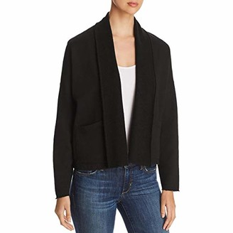 Three Dots Women's 3 END Fleece Open Cardigan