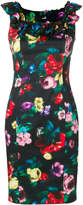 Love Moschino pixilated flower dress