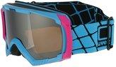Uvex Apache Ii Ski Goggles Cyan Pink