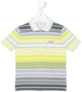 Boss Kids - striped polo shirt - kids - Cotton - 4 yrs